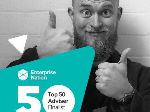 I'm a UK top 50 business advisor... again!