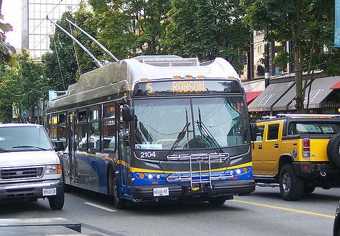 Coast mountain bus
