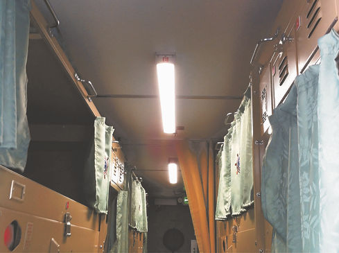 "Coast Guard ""people pod"" LED lighting project"