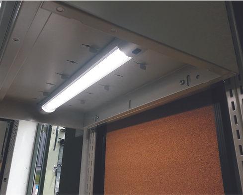MSVS interior kitting LED lighting project