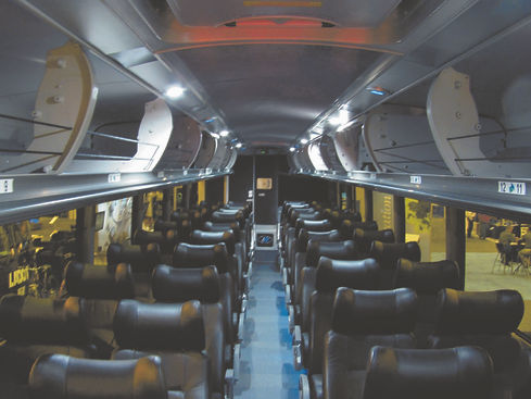 MCI Commuter Coach  led Lighting