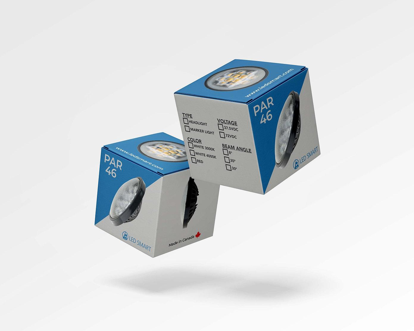 PAR 46 Headlight packaging