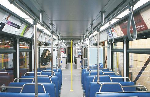 Calgary Transit led lighting