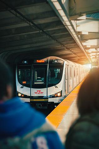 Toronto transit train