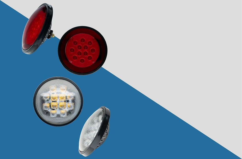 Par 46 headlight and marker light