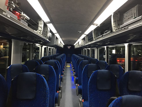 MCI coach interior