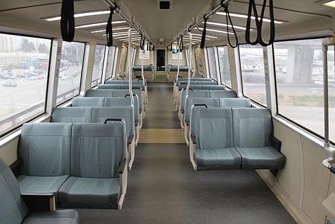 Rail coach interior