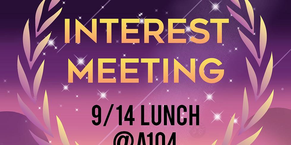 Interest Meeting 18-19