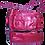Thumbnail: ANITABAG Red Italian Leather