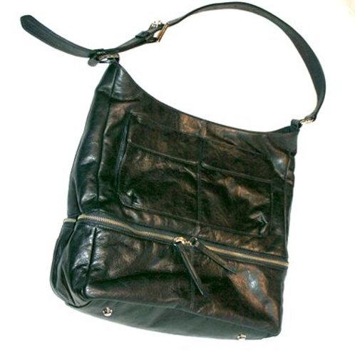 ANITABAG - Black Italian Leather