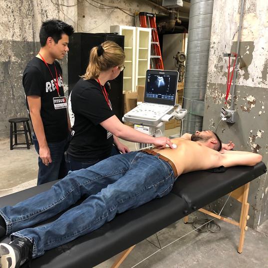 Bedside Ultrasound Workshop