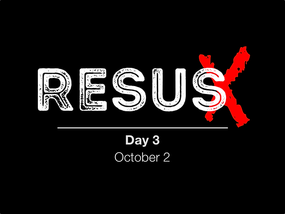 ResusX: Day 3 (Non-Attending Pricing)
