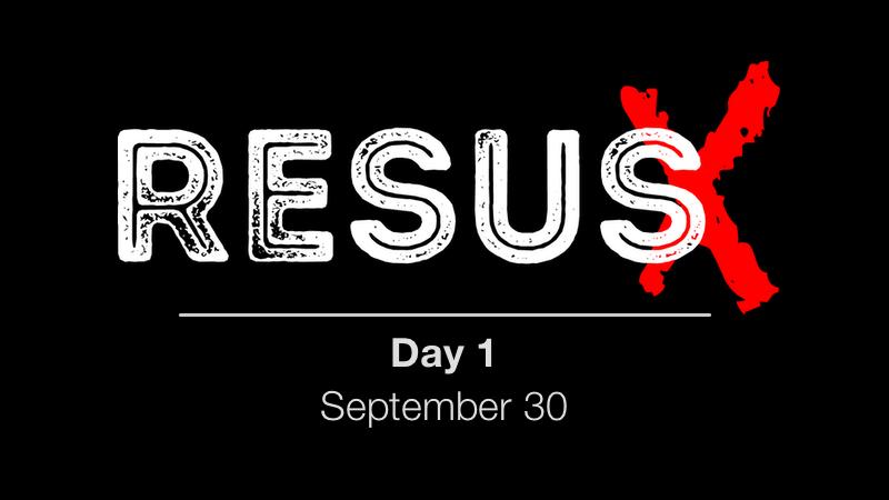 ResusX: Day 1