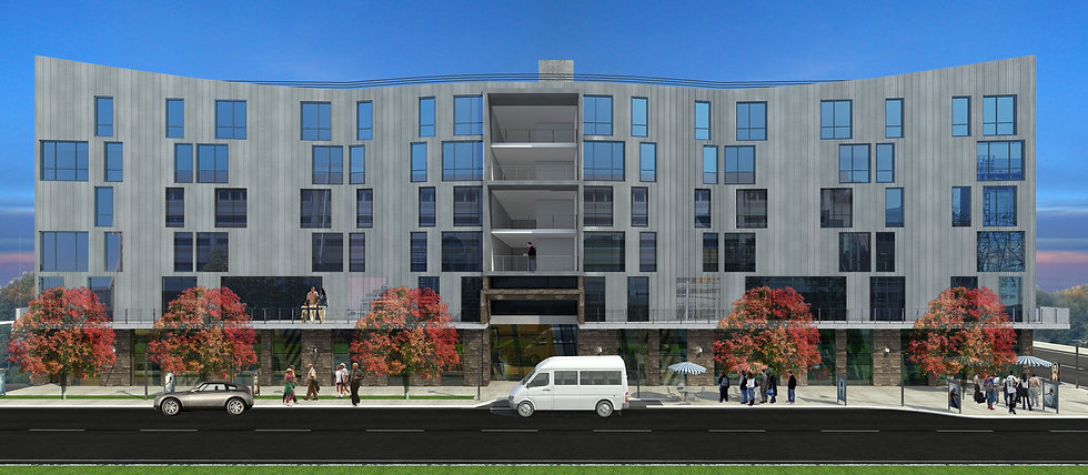 7TH & CAMPBELL, ARCHITECT'S RENDERING, S