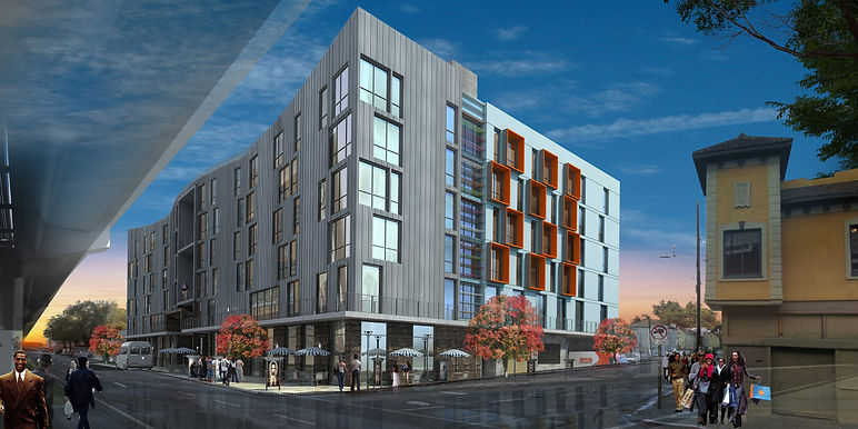 7TH & CAMPBELL ARCHITECT'S RENDERING, CO