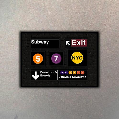 Panel Subway