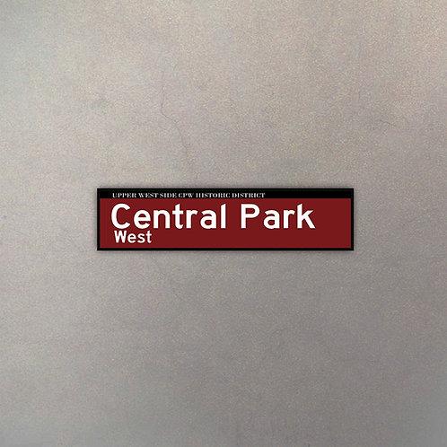Cartel Central Park West