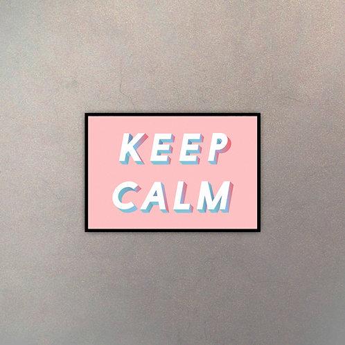 """Tipografía """"Keep Calm"""""""
