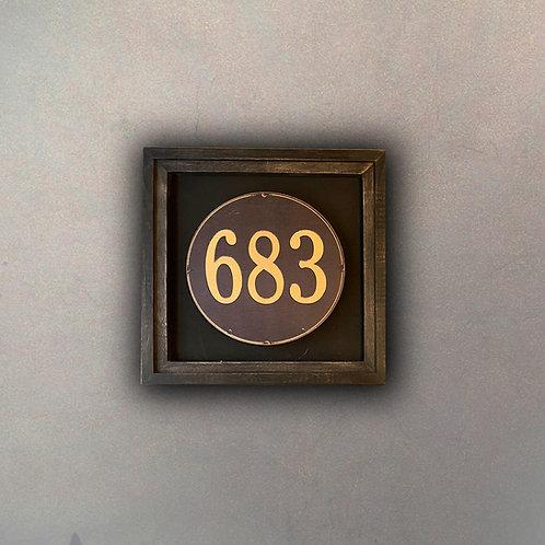 Cuadro Vintage Número 683