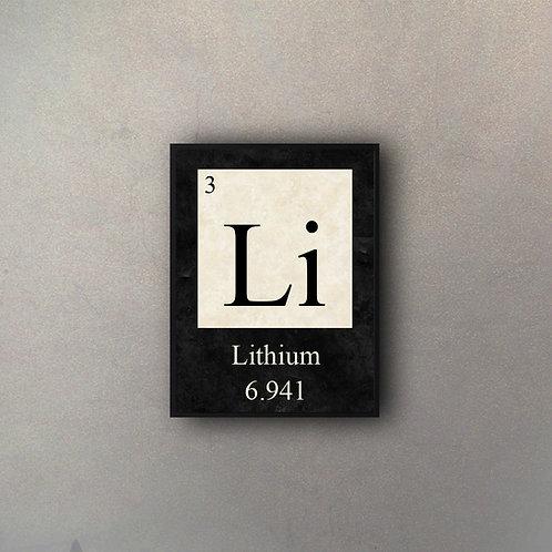 Elemento Litio
