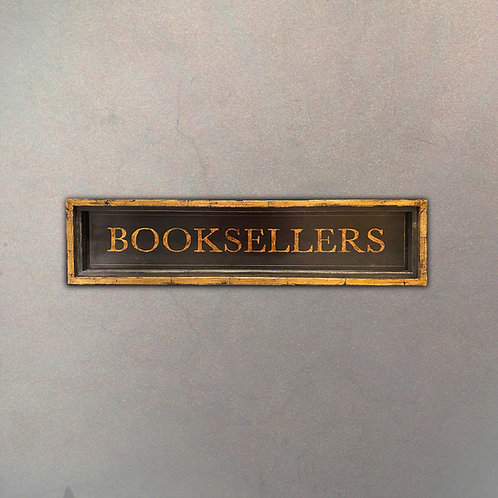 """Cartel """"Booksellers"""""""
