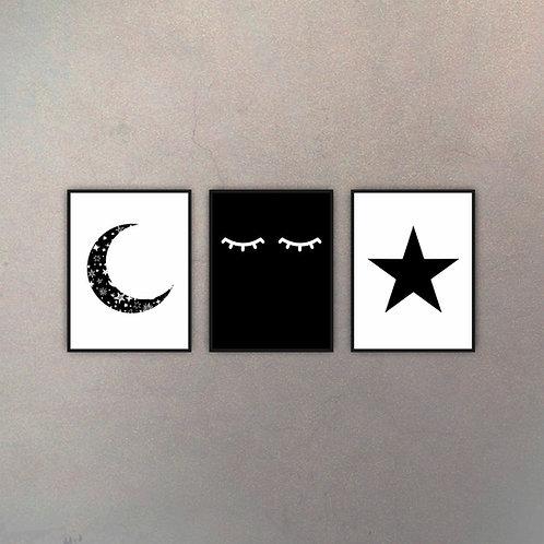 Set Sueño (3 Cuadros)