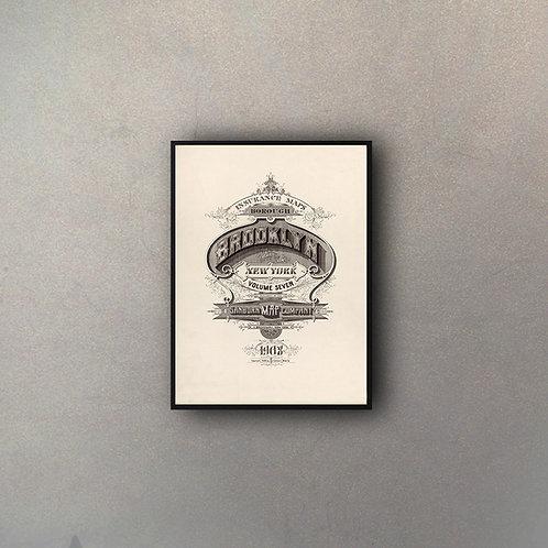 Tipografía Ciudades USA (Brooklyn)