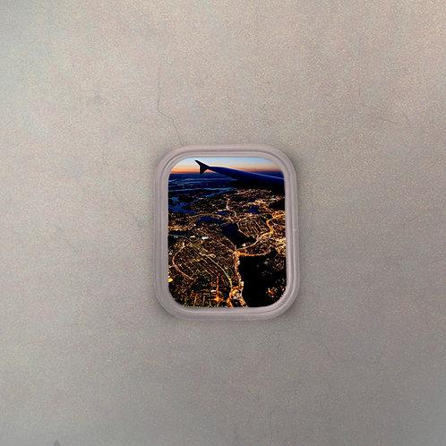 Ventanilla Avión Vista Ciudad