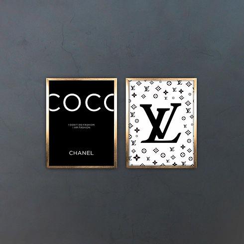 Set Chanel & Louis Vuitton Colecciones.j