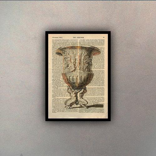 Copón Clásico II Fondo Vintage