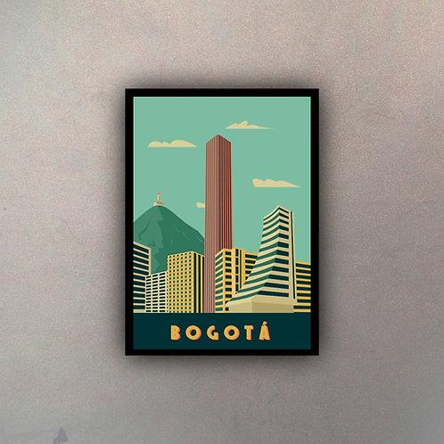Afiche Vintage Bogotá