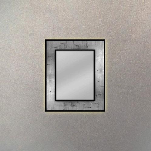 Espejo Placa Luces Led