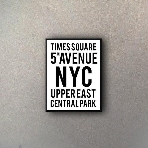 Tipografía Times Square