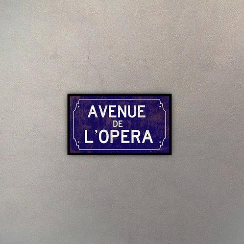 Avenue De L' Opera