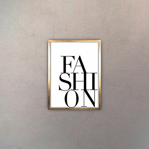 """Tipografía """"Fashion"""" Gold"""