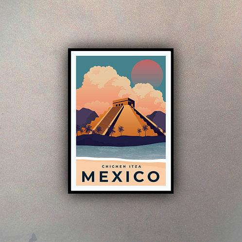 Afiche Vintage México