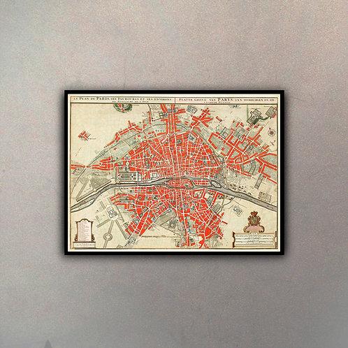 Mapa París IV