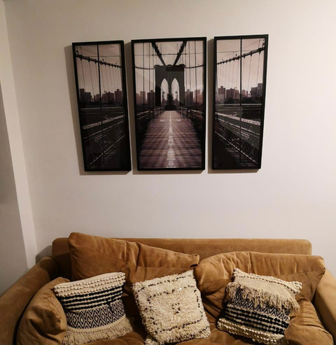 Tríptico Puente Brooklyn (3 Cuadros)