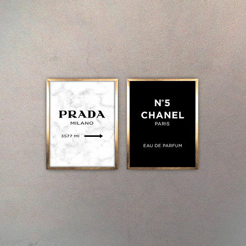 Set Brands III (2 Cuadros)
