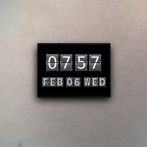 Reloj Aeropuerto Gigante