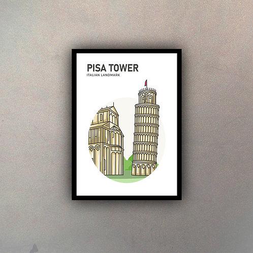 Ícono Ciudad Torre de Pisa