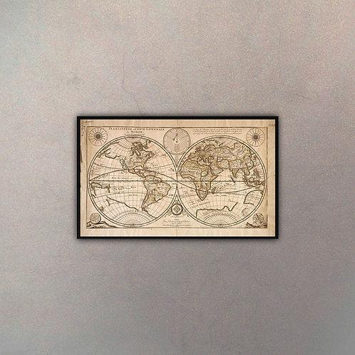 Mapa Del Mundo I