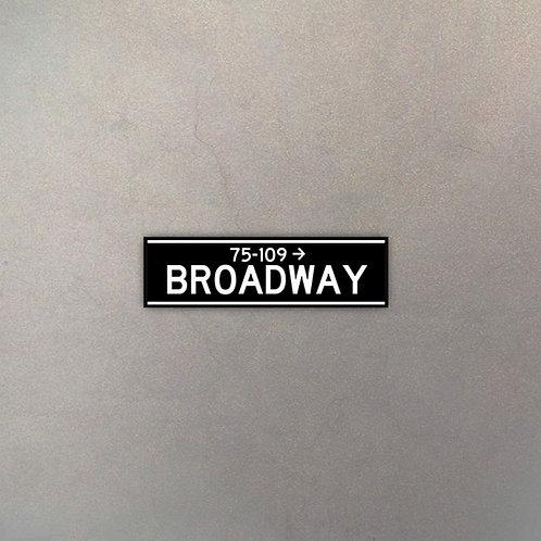Cartel Broadway II