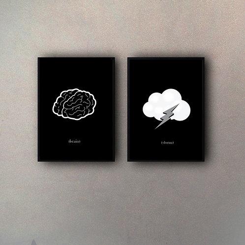 Set Brainstorm (2 Cuadros)