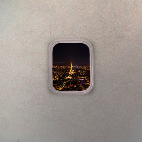 Ventanilla Avión Torre Eiffel