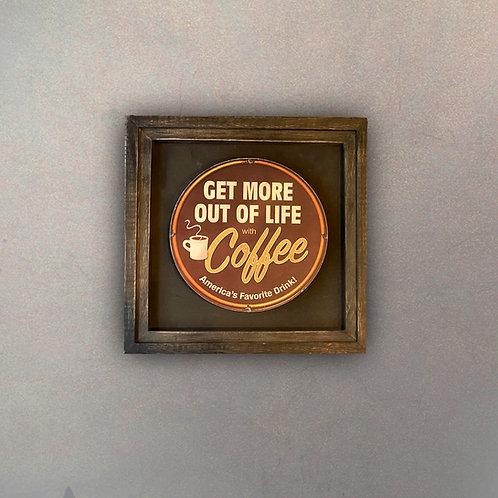 Cuadro Publicidad Vintage Coffee