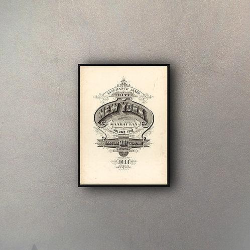 Tipografía Ciudades USA (NY)