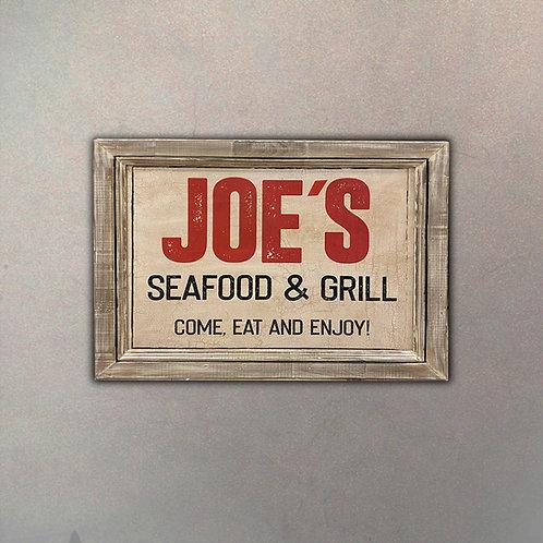 "Cartel ""Joe's Seafood & Grill"""