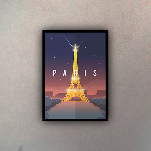 Afiche Vintage París