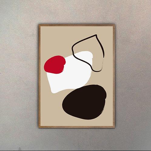 Abstracto de Autor VI (Canvas)